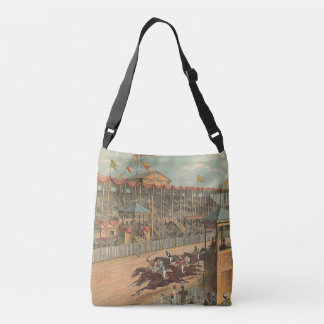 TOP Race Day at the Track Crossbody Bag