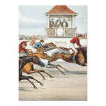 """TOP Race to Victory 5"""" X 7"""" Invitation Card"""
