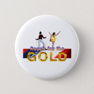 TOP Reach for the Gold 2 Inch Round Button