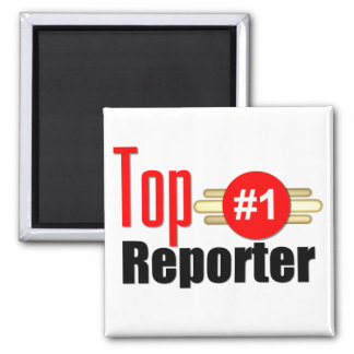 Top Reporter Fridge Magnet
