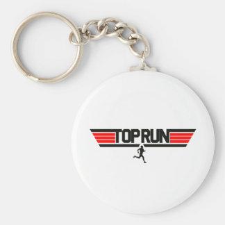 Top Run Keychain