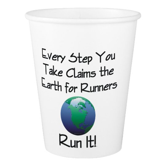 TOP Runner's Earth Paper Cup