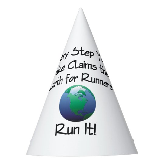 TOP Runner's Earth Party Hat