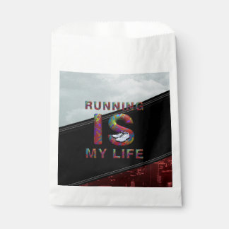 TOP Running is My Life Favour Bag