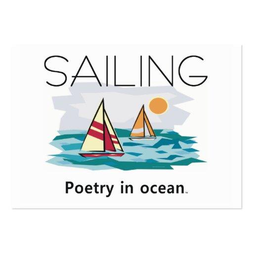 TOP Sailing, Poetry in Ocean Business Card