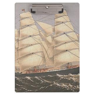TOP Sailing Seas Clipboard