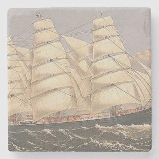 TOP Sailing Seas Stone Coaster