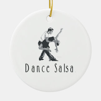 TOP Salsa Dance Ceramic Ornament