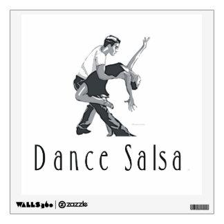 TOP Salsa Dance Wall Sticker