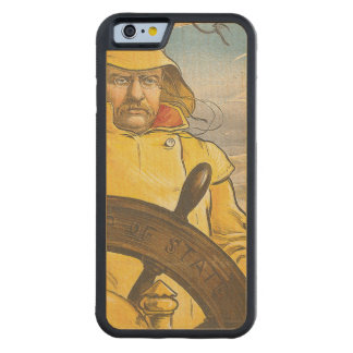 TOP Seafarer Carved Maple iPhone 6 Bumper Case