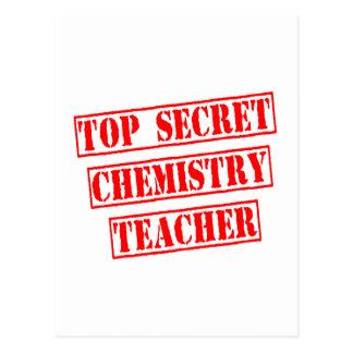 Top Secret Chemistry Teacher Post Card