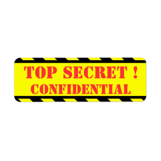 top secret - confidential