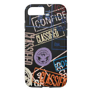 Top Secret Design on iPhone 7 Case