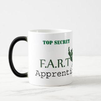 TOP SECRET F.A.R.T Apprentice. Pls return to... Magic Mug