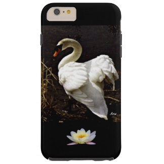 TOP SELLING CASES IPHONE6 TOUGH -WHITE SWAN  LOTUS