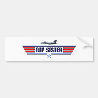 Top Sister Logo Bumper Sticker