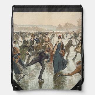 TOP Skating Old School Drawstring Bag