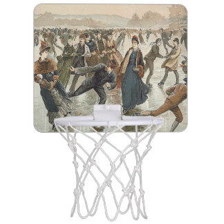 TOP Skating Old School Mini Basketball Backboard