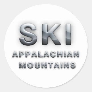 TOP Ski Appalachian Round Sticker