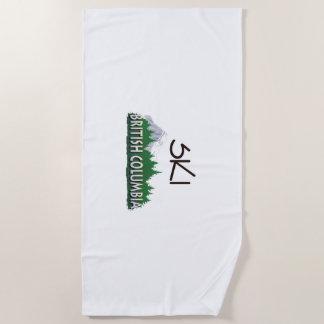 TOP Ski BC Beach Towel