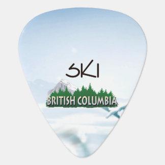 TOP Ski BC Guitar Pick