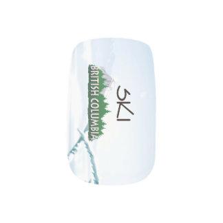 TOP Ski BC Minx Nail Art