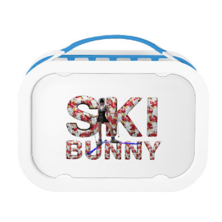 TOP Ski Bunny Lunch Box