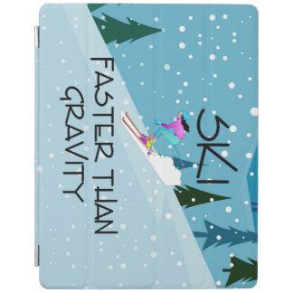 TOP Ski Faster iPad Cover