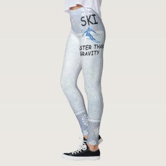 TOP Ski Faster Leggings
