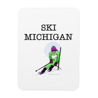 TOP Ski Michigan Magnet