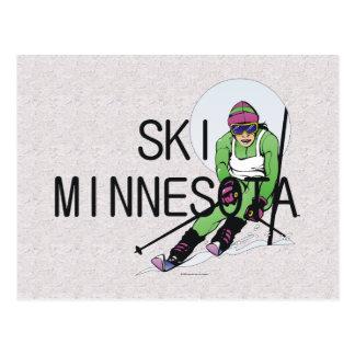 TOP Ski Minnesota Postcard