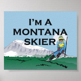 TOP Ski Montana Poster