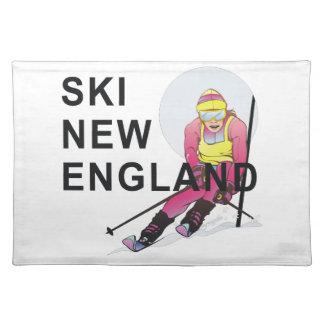 TOP Ski New England Placemats