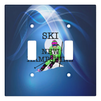 TOP Ski New Hampshire Light Switch Cover