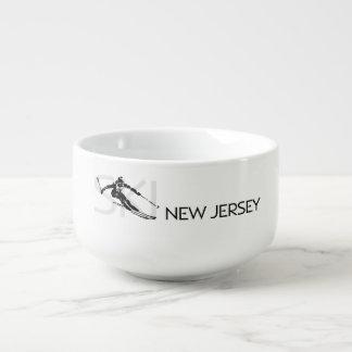 TOP Ski New Jersey Soup Mug