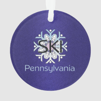 TOP Ski Pennsylvania Ornament