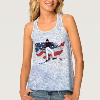 TOP Ski USA Tank Top
