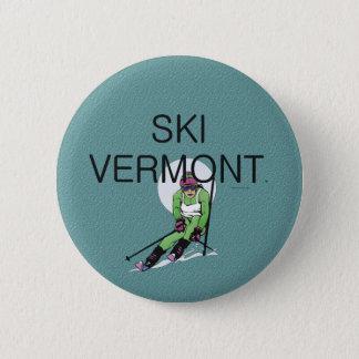 TOP Ski Vermont 2 Inch Round Button