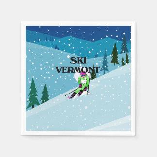 TOP Ski Vermont Disposable Napkins