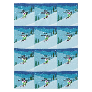 TOP Ski Vermont Tablecloth