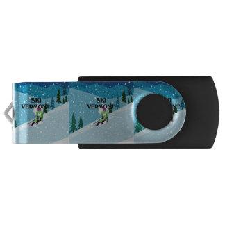 TOP Ski Vermont USB Flash Drive