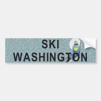 TOP Ski Washington Bumper Sticker