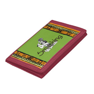 TOP Smashing Tennis Tri-fold Wallet