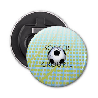 TOP Soccer Groupie Bottle Opener
