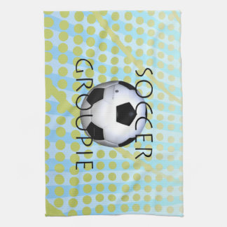 TOP Soccer Groupie Kitchen Towel