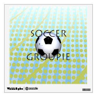 TOP Soccer Groupie Wall Sticker
