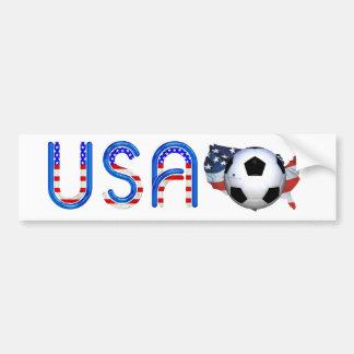 TOP Soccer USA Bumper Sticker
