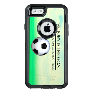 TOP Soccer Victory Slogan OtterBox iPhone 6/6s Case