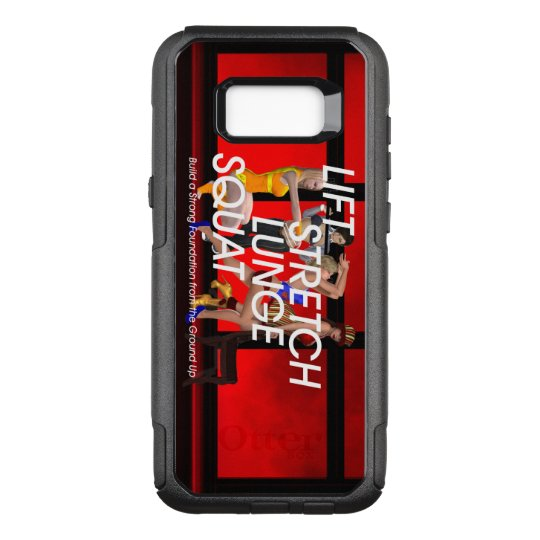 TOP Squat Slogan OtterBox Commuter Samsung Galaxy S8+ Case