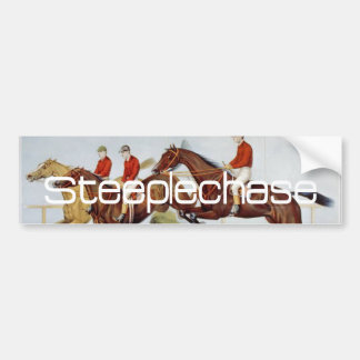 TOP Steeplechase Bumper Sticker